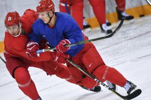 Российские хоккеисты проводят первый матч на Олимпиаде в Пхенчхане