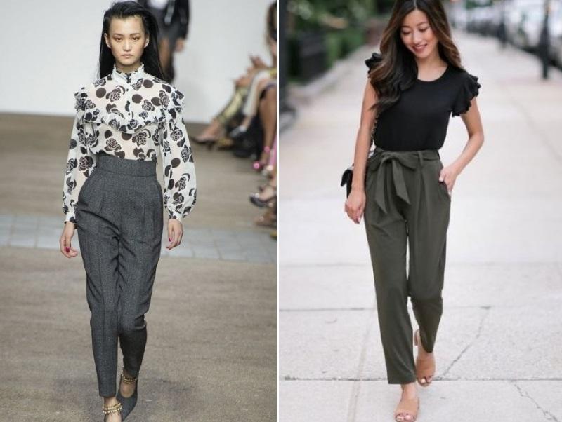 модные брюки и блузки