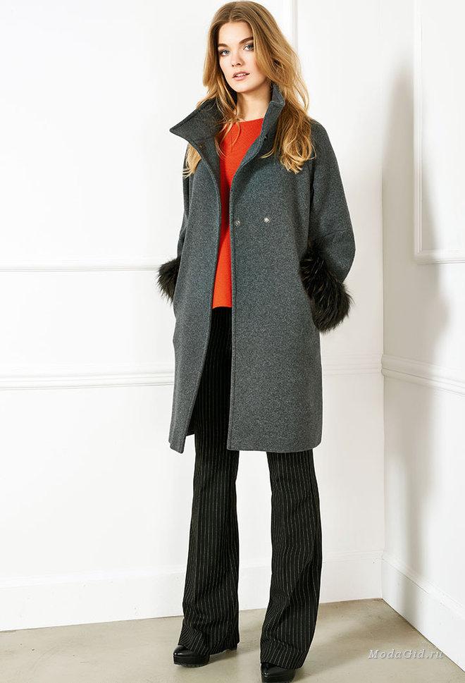 Одежда зима осень для полных