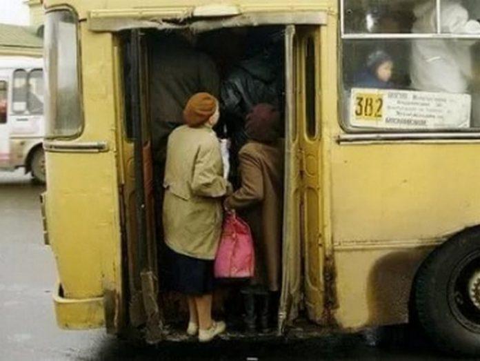 Сегодня в автобусе услышал, самую крутую фразу в своей жизни...