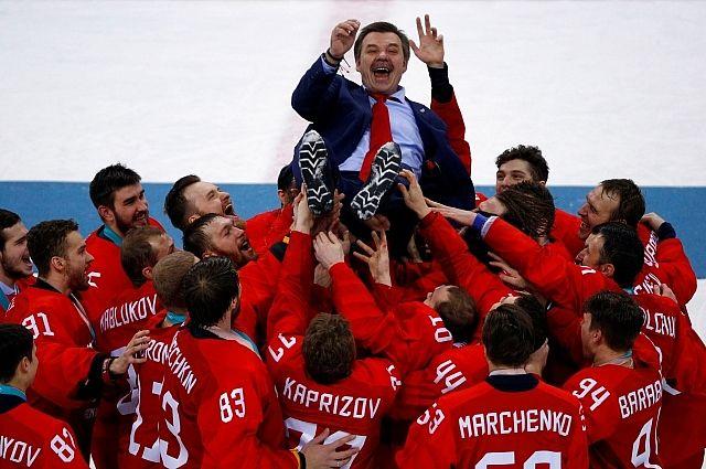 Путин поздравил сборную РФ по хоккею с победой на ОИ в Пхенчхане