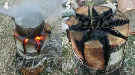 Индейские Свечи для приготовление пищи