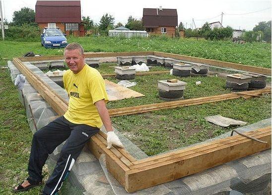 Как построить дом за 2 недели своими руками