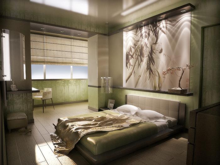 Некоторые рекомендаци при оформлении дизайна спальни (9) (700x525, 444Kb)