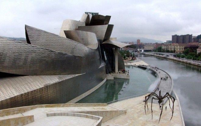 Город Бильбао в Испании