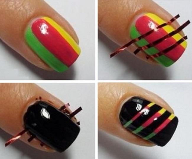 Рисунок на ногти своими руками для начинающих