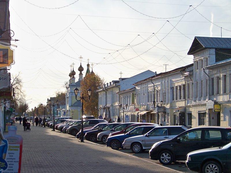 Главная улица Города России, Илья Муромец, Муром, красивые места, пейзажи, путешествия, россия