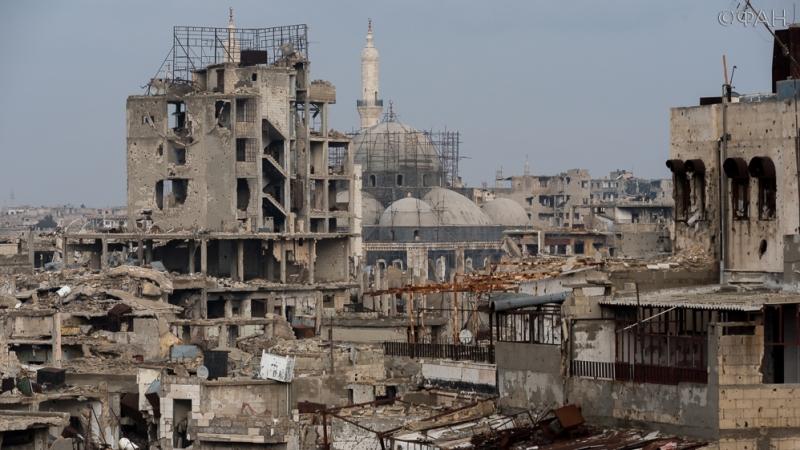 Сирия: Дамаск пропустил гумконвой МККК в город, занятый вооруженной оппозицией