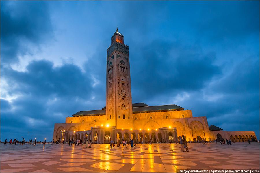 Hasan II Mosque / Мечеть Хасана II