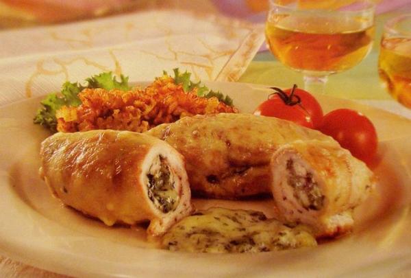 Рулетики «Боярские» из куриной грудки - вкусно, быстро и сытно!