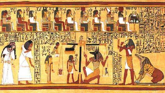 Древние цивилизации. Древнеегипетская Книга мёртвых