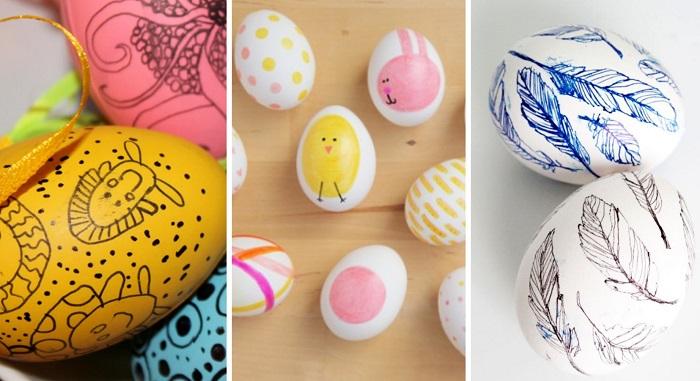 как и чем украсить пасхальные яйца