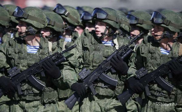 Путин утвердил штатную численность Вооруженных сил России