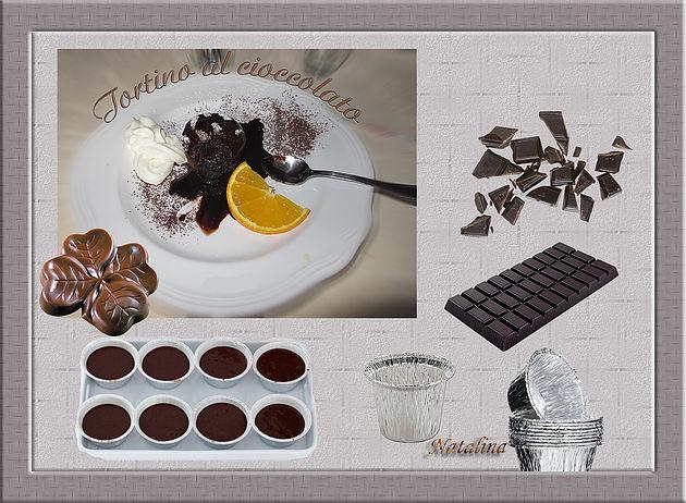 Делюсь рецептом, вкуснейшего шоколадного пирожного с нежным и мягким сердцем)))