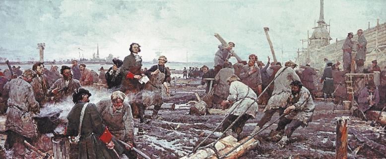 Возник ли Санкт-Петербург на пустом месте? Или тут ранее был другой город?