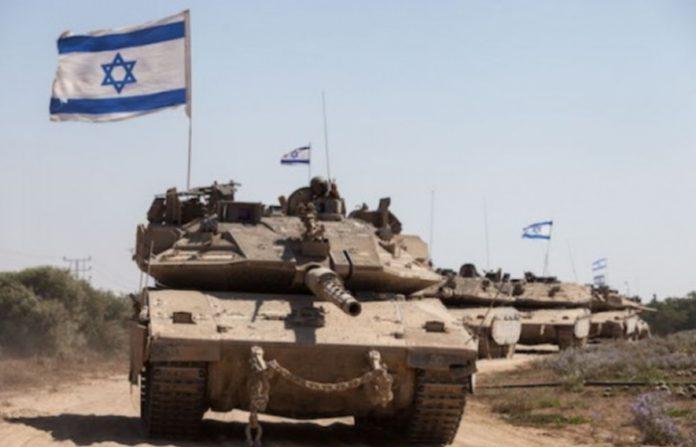 Израильские танки уничтожили…
