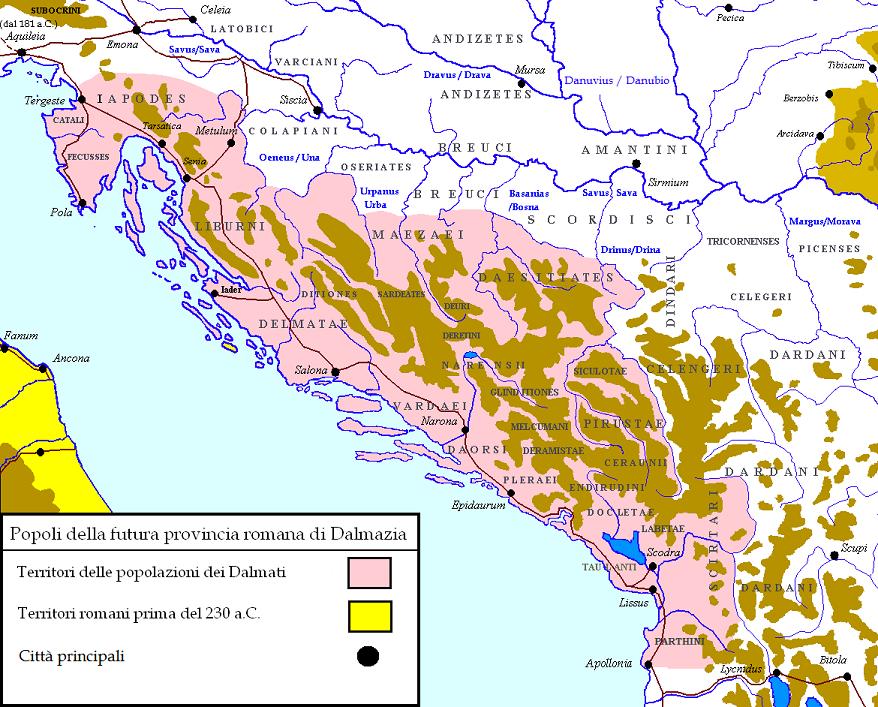 Войны Августа: завоевание Далмации и Паннони. Крах амбиций (2 статьи)