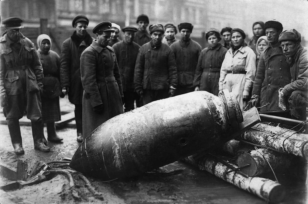 Блокада Ленинграда в фотографиях
