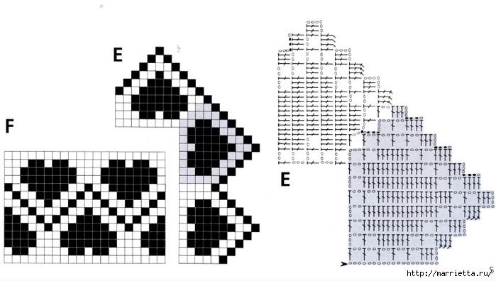 Вязание крючком. Кружева и бордюры (2) (700x396, 151Kb)