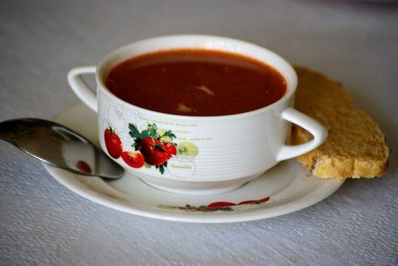 Томатный суп, экспресс-рецепт
