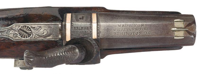 Пистолет Деринджер Филадельфия Деринджер, пистолет, оружие