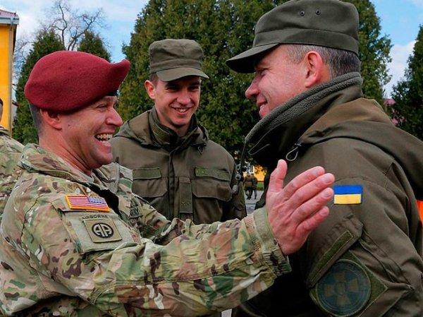 Военные ВСУ избили инструкторов НАТО за изнасилование мирных жительниц