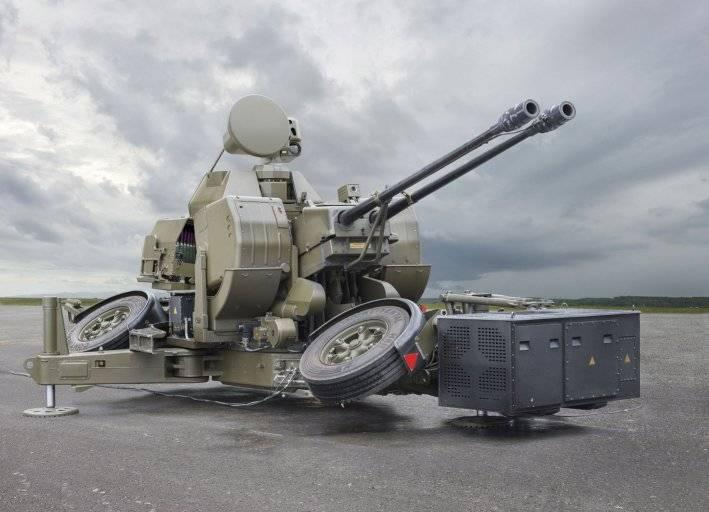 Новая зенитная артиллерийская установка Oerlikon GDF-009 от Rheinmetall