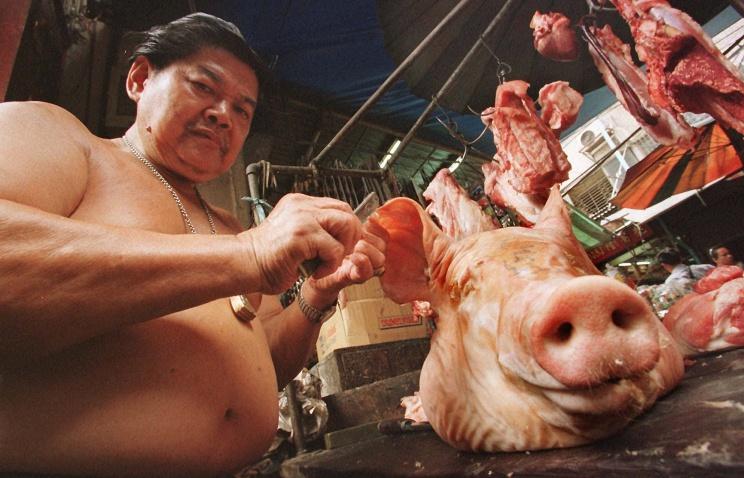 Россельхознадзор разрешил двум крупным предприятиям Таиланда поставлять свинину в Россию