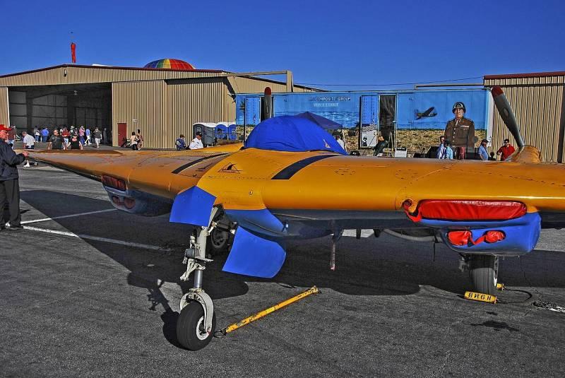 Экспериментальные самолеты Northrop N9M (США)