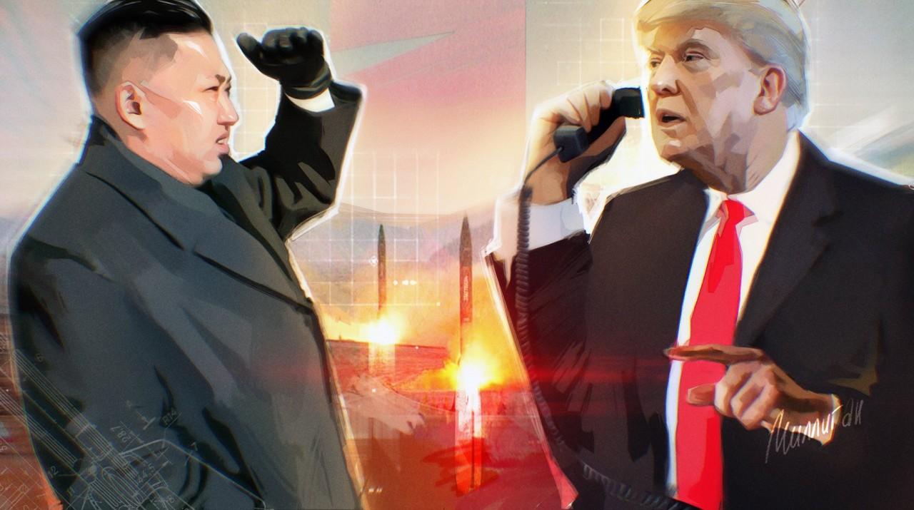 Трамп проговорился о «крупномасштабных» санкциях против КНДР