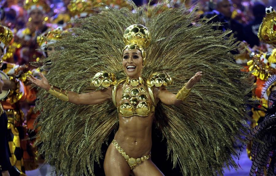 офигительный бразильский карнавал