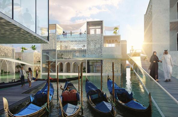 В Дубае построят собственную Венецию с каналами и гондолами