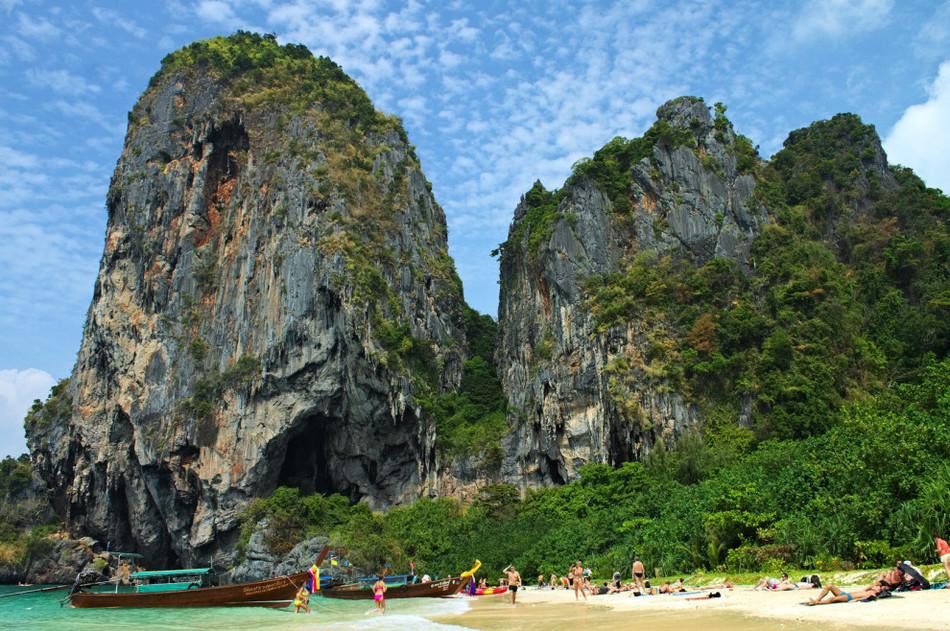 Bangkok to phra nang beach