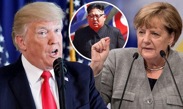 «Она может говорить за Германию»: «яростный» Трамп жестко ответил Меркель по северокорейскому конфликту