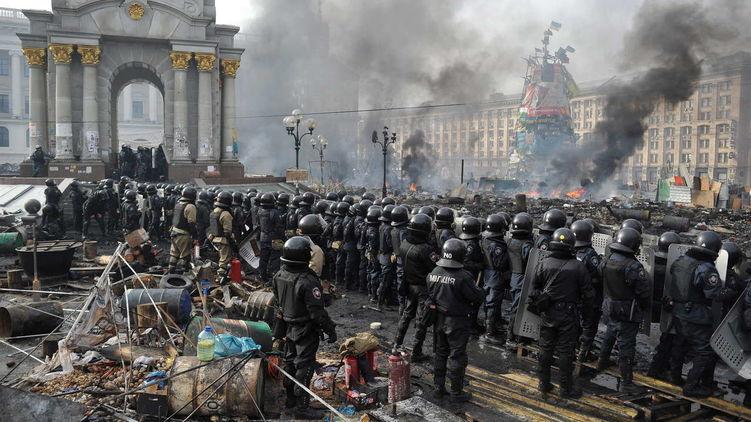 От зачистки Майдана до бегст…