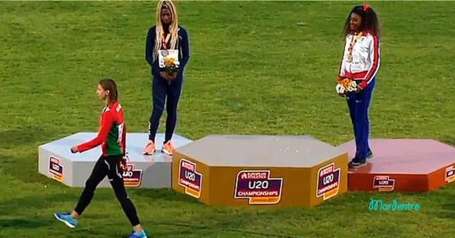 Белорусская спортсменка отказалась от награждения под чужим гимном