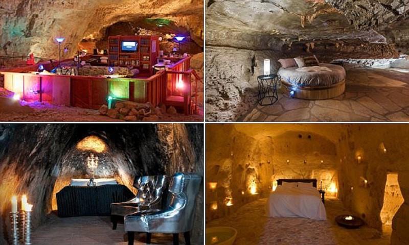 Отели в пещерах для любителей экзотики