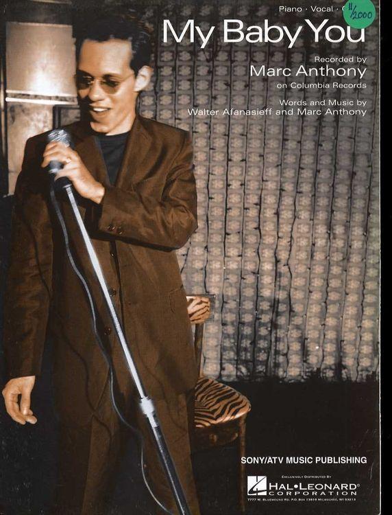 Marc Anthony-«My Baby You». Это прекрасная песня о любви!