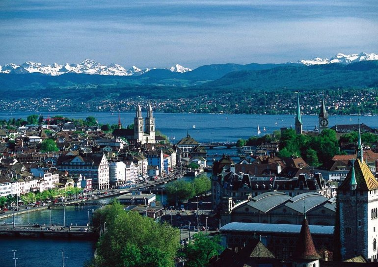 Достопримечательности Цюриха: Топ-17 мест для посещения