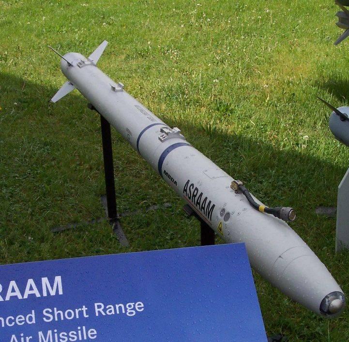"""В Индии растёт интерес к российским ракетам """"воздух-воздух"""" и падает к ASRAAM"""