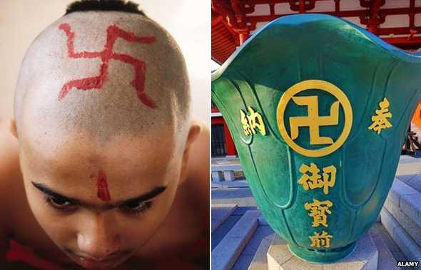Свастика в буддизме и индуизме