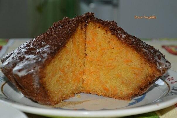Морковный тортик «Оранжевое небо»