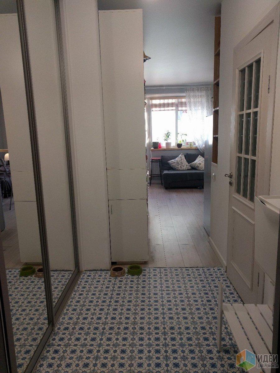 Студия 32 кв.м с одним окном