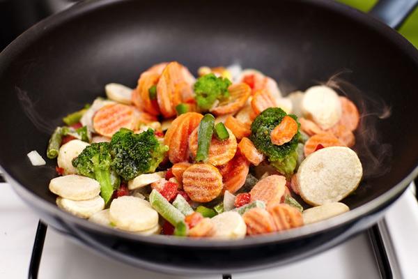 Как готовить замороженные овощи