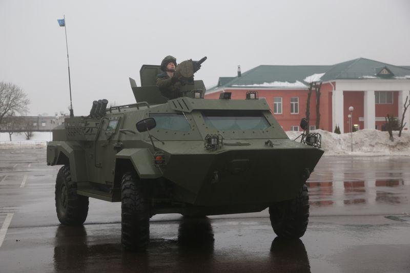 Вооруженные силы Белоруссии получили первую партию бронированных машин «Кайман»