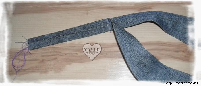 Как сшить жилет из старых джинсов (26) (700x301, 146Kb)