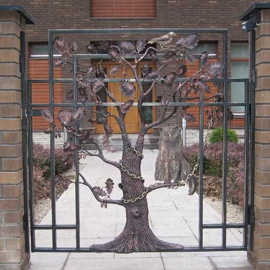 Калитка-дерево