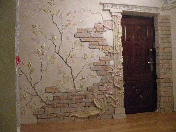 Идеи для декора стен 5