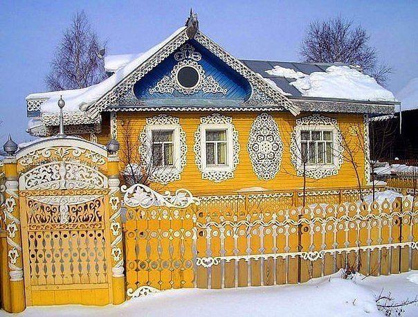 Восхитительная красота деревенских домов