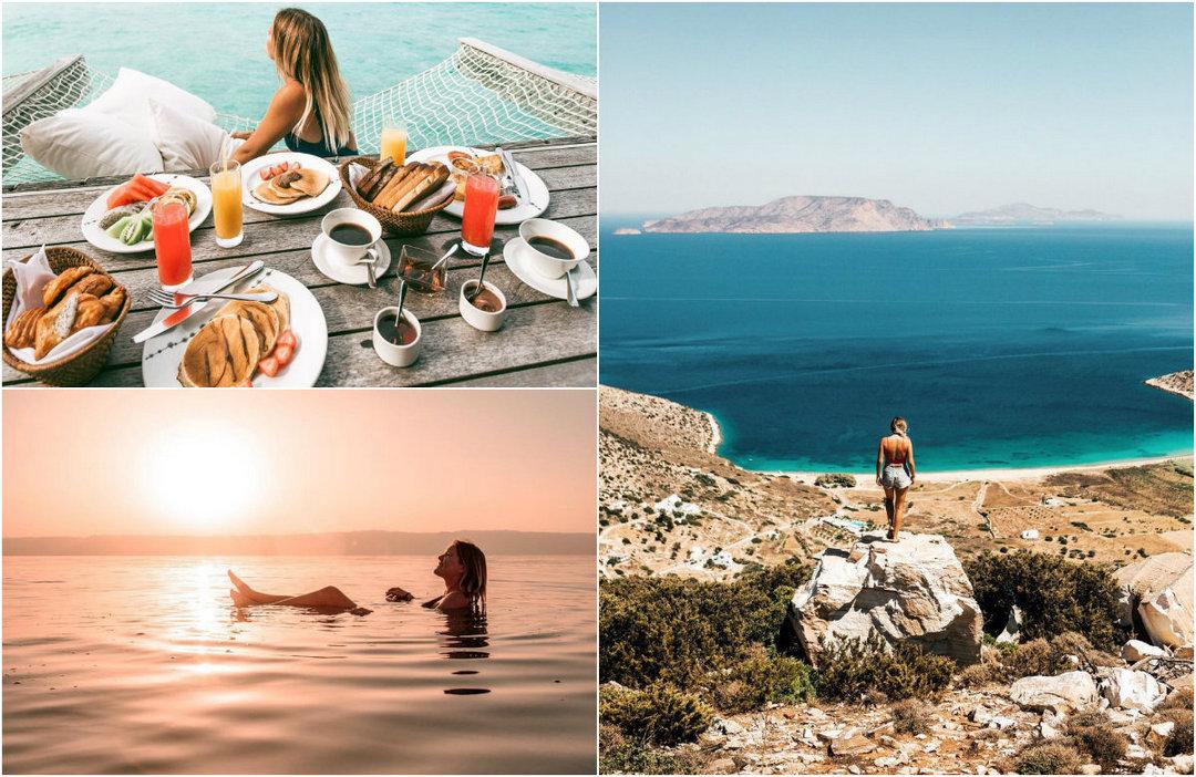 Работа мечты: 25-летняя девушка путешествует и зарабатывает до $900 за пост в инстаграм